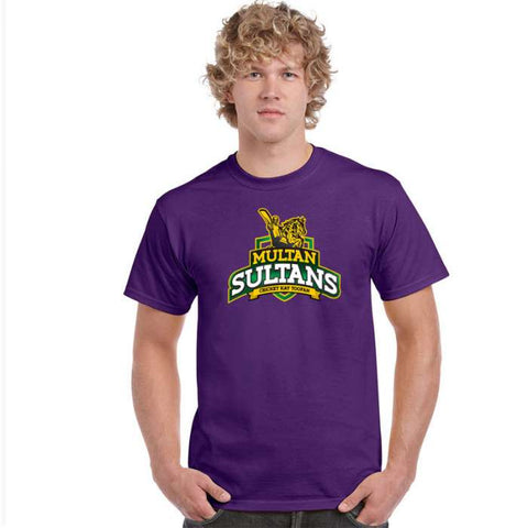 Multan Sultan PSL Purple T-Shirt - RHIZMALL.PK Online Shopping Store.