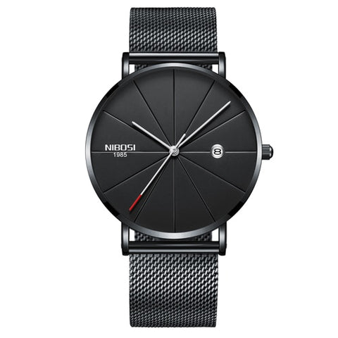 NIBOSI Gorilla Glass Universal Timekeeping Men and Women Luxury Watch - RHIZMALL.PK Online Shopping Store.
