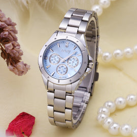 Diamond Ladies Quartz Watch - RHIZMALL.PK Online Shopping Store.