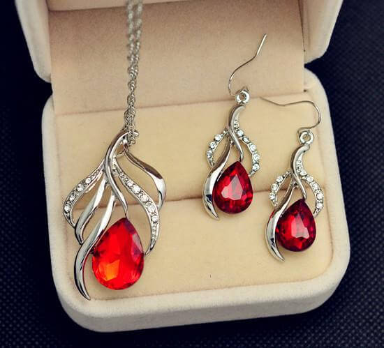 Kenneth Sterling Silver Jewellery Set - RHIZMALL.PK Online Shopping Store.