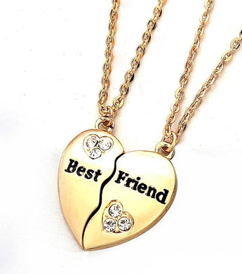 Best Friend Broken Heart Necklace - RHIZMALL.PK Online Shopping Store.