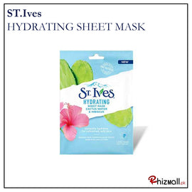 st. ives- hydrating sheet mask 23 ml