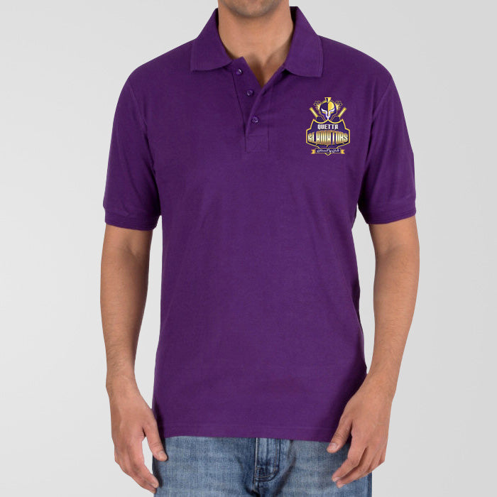 Quetta Gladiators PSL Polo T-Shirt - RHIZMALL.PK Online Shopping Store.
