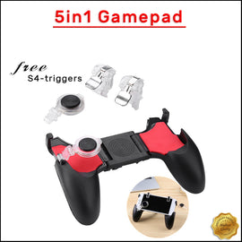 PUBG Gamepad Controller With S4 Trigger Kit Moving Joystick Fire Trigger