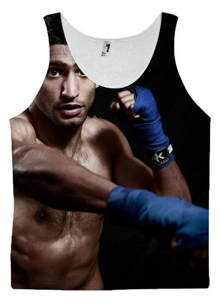 Amir Khan 3 TANK TOP - RHIZMALL.PK Online Shopping Store.