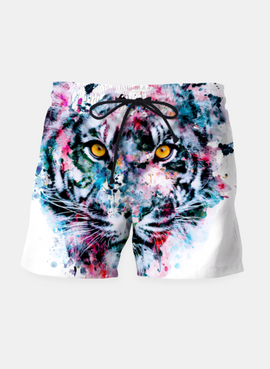 Tiger Blue Shorts - RHIZMALL.PK Online Shopping Store.