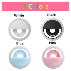 Selfie Camera Ring Light 36 LED for Any Cell Phone - RHIZMALL.PK Online Shopping Store.