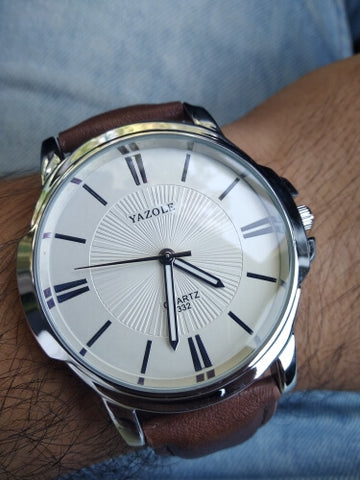 YAZOLE Luxury Quartz Watch