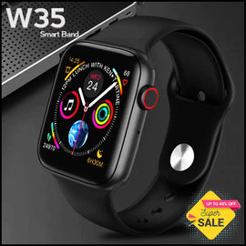 W35 Bluetooth Call Smart Watch ECG Heart Rate Monitor - RHIZMALL.PK Online Shopping Store.