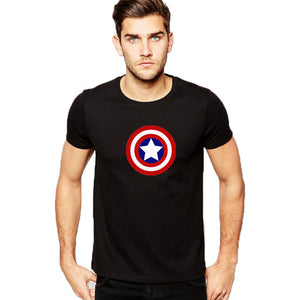 Captain America Half Sleeves T-Shirt - RHIZMALL.PK Online Shopping Store.
