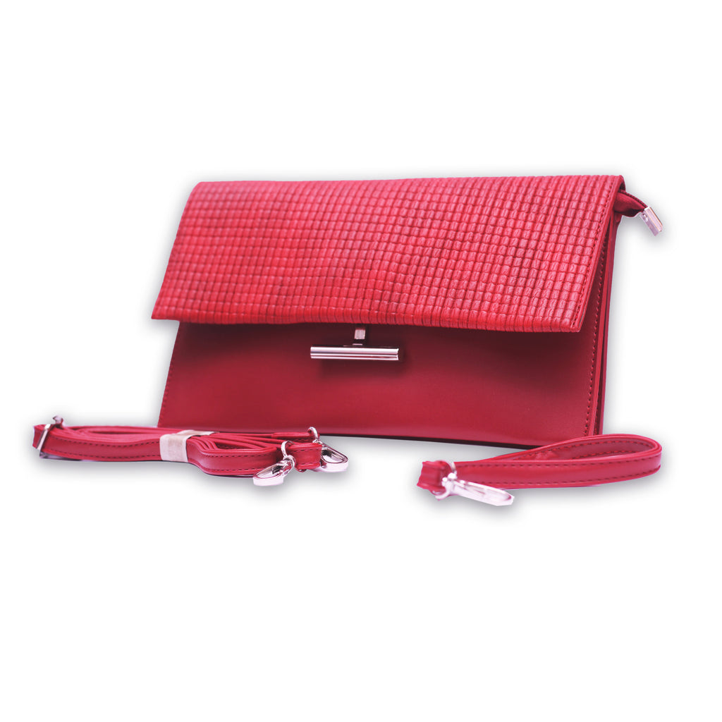 Accrual Red Casual Female Shoulder Bag - RHIZMALL.PK Online Shopping Store.