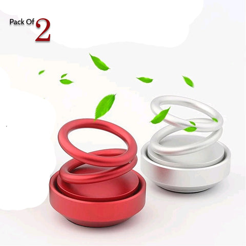 Solar Power Car Aroma Rotating Car Solid Perfume diffuser buy online
