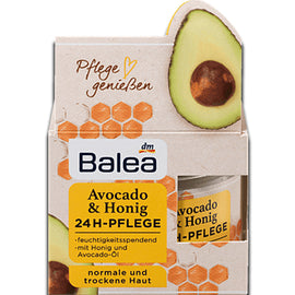 Day cream Balea Avocado & Honey 24h care, 50 ml - RHIZMALL.PK Online Shopping Store.