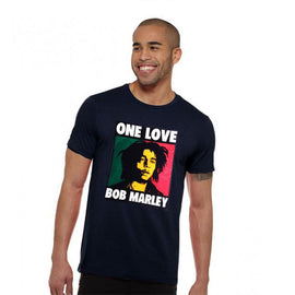 One Love BOB MARLEY Half Sleeves T-Shirt - RHIZMALL.PK Online Shopping Store.