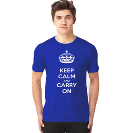 Keep Calm Half Sleeves T-Shirt - RHIZMALL.PK Online Shopping Store.