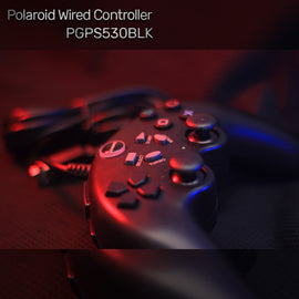 Polaroid Wired Controller PGPS530BLK - RHIZMALL.PK Online Shopping Store.