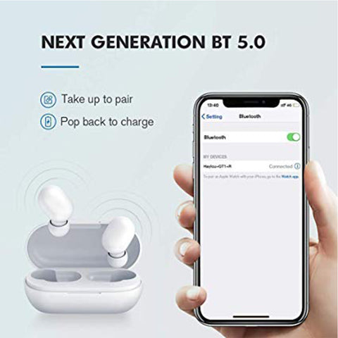 New MI Bluetooth 5.0 Earphone Stereo Bass Wireless Airdots - RHIZMALL.PK Online Shopping Store.