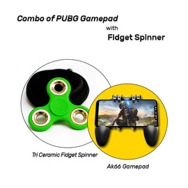 Combo of Gamepad with Fidget Spinner - RHIZMALL.PK Online Shopping Store.