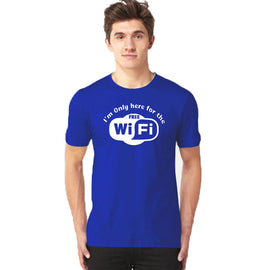 Wifi Half Sleeves T-Shirt - RHIZMALL.PK Online Shopping Store.