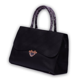 Black Tool Women Leather Shoulder Bag - RHIZMALL.PK Online Shopping Store.
