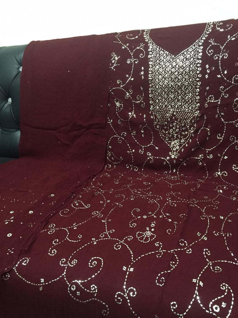Stylish Mukesh Gala Jaal Embroidery - RHIZMALL.PK Online Shopping Store.
