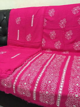 Unstitched Tarkashi Stipdo Embroidery - RHIZMALL.PK Online Shopping Store.