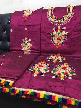 Beautiful Double Tone Mareena Unstitched - RHIZMALL.PK Online Shopping Store.