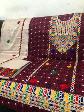Beautiful Boutique Style Aari Work Embroidery - RHIZMALL.PK Online Shopping Store.