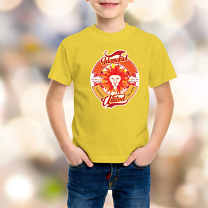 Islamabad United Kids Yellow T-Shirt - RHIZMALL.PK Online Shopping Store.
