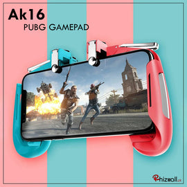AK16 PUBG Tiriggers 4 in 1 Mobile Game Controller Handle Joystick
