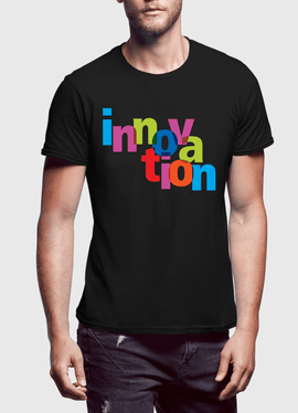 Innovation Half Sleeves T-shirt - RHIZMALL.PK Online Shopping Store.