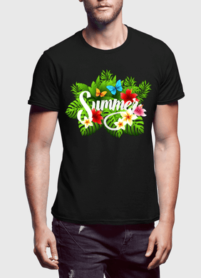 Summer Time Half Sleeves T-Shirt