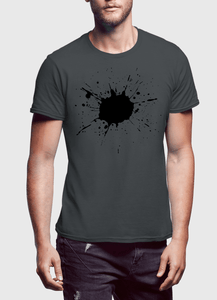 Splatter Half Sleeves T-shirt - RHIZMALL.PK Online Shopping Store.