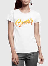 Summer Half Sleeves Women T-shirt