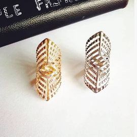 Double Hollow Ring - RHIZMALL.PK Online Shopping Store.