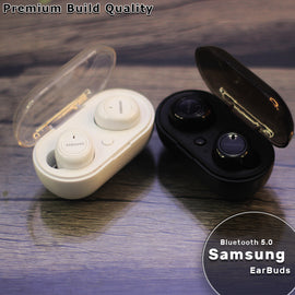 Samsung 5.0 Bluetooth Wireless EarBuds Noise-Cancelling Airpods - RHIZMALL.PK Online Shopping Store.