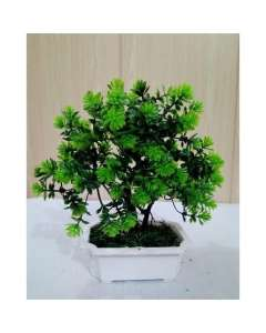 Artificial Tree Decoration Piece - Green - RHIZMALL.PK Online Shopping Store.