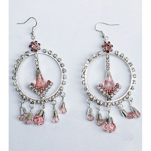 Beneta Penta Crystal Drop Earring - RHIZMALL.PK Online Shopping Store.