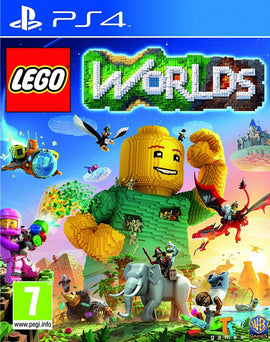 PS4 Lego Worlds Game - RHIZMALL.PK Online Shopping Store.
