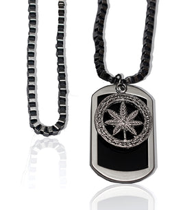 Weed Silver Luxury Necklace - RHIZMALL.PK Online Shopping Store.