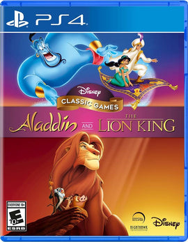 PS4 Aladdin And LionKing Game - RHIZMALL.PK Online Shopping Store.