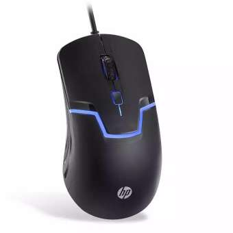 HP M100 Wired Optical USB Gaming Mouse 1600DPI USB Connect Light Weight - RHIZMALL.PK Online Shopping Store.