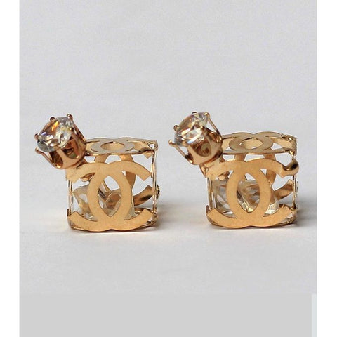 Golden Metal Earrings - RHIZMALL.PK Online Shopping Store.