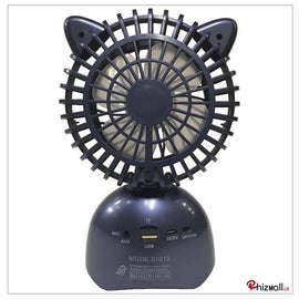 S1015 Two-in-One Portable Wireless Speaker With Fan