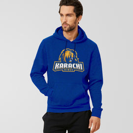Karachi King PSL Royal Blue Hoodie - RHIZMALL.PK Online Shopping Store.