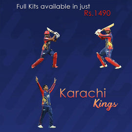 Karachi Kings PSL Official full kit - RHIZMALL.PK Online Shopping Store.