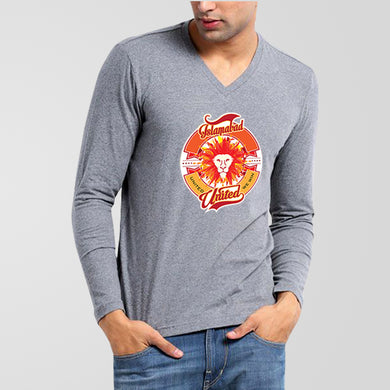 Islamabad United PSL V-Neck Full Sleeves T-Shirt - RHIZMALL.PK Online Shopping Store.