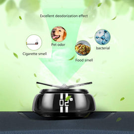 Fan Fogger Solar Powered Car Air Freshener