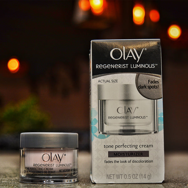 Olay Regenerists Luminous Tone Perfecting Cream and Sun Spot Remover with Advanced glowing skin formula - RHIZMALL.PK Online Shopping Store.