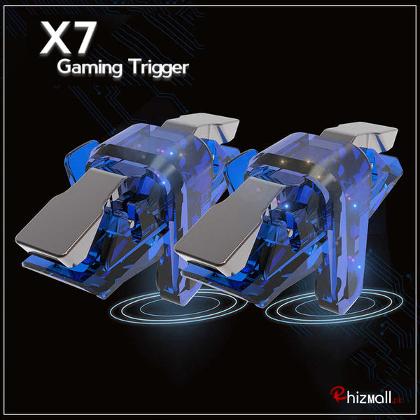 X7 Game Controller Gamepad Trigger Aim Button for PUBG